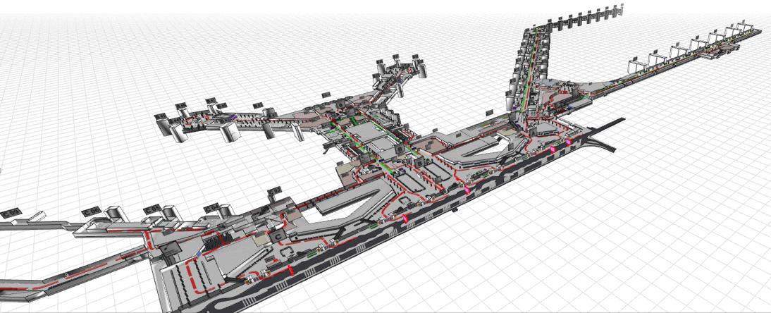 Individualsoftware Lageplan 3D Schema