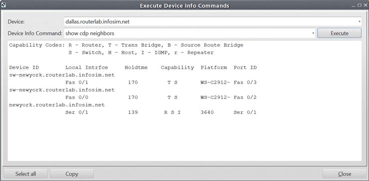 screenshot StableNet® code
