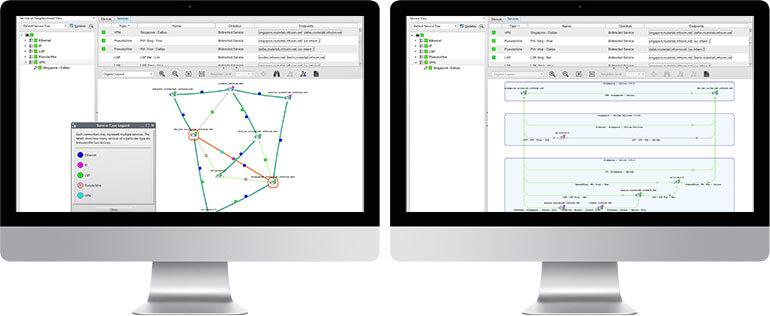two monitors screenshots StableNet®