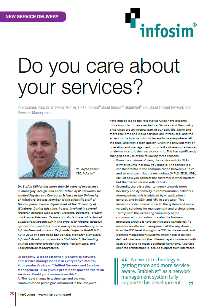 Do you care about your services?