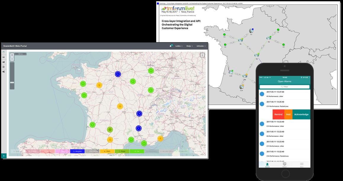 Screenshot of StableNet® Resource Management