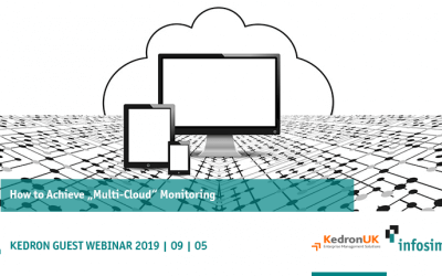 """How To Achieve """"Multi-Cloud"""" Monitoring – September 5th, 2019"""