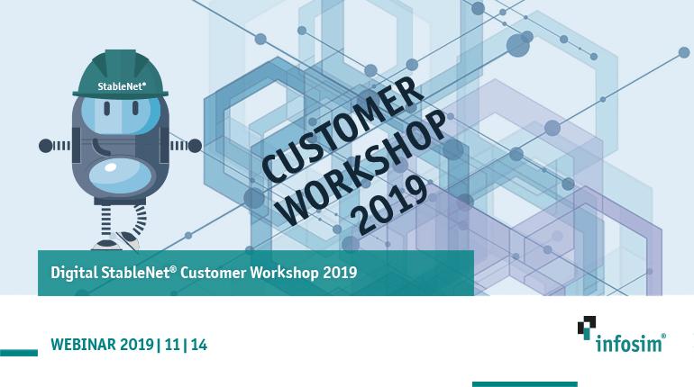 Digital StableNet® Customer Workshop 2019