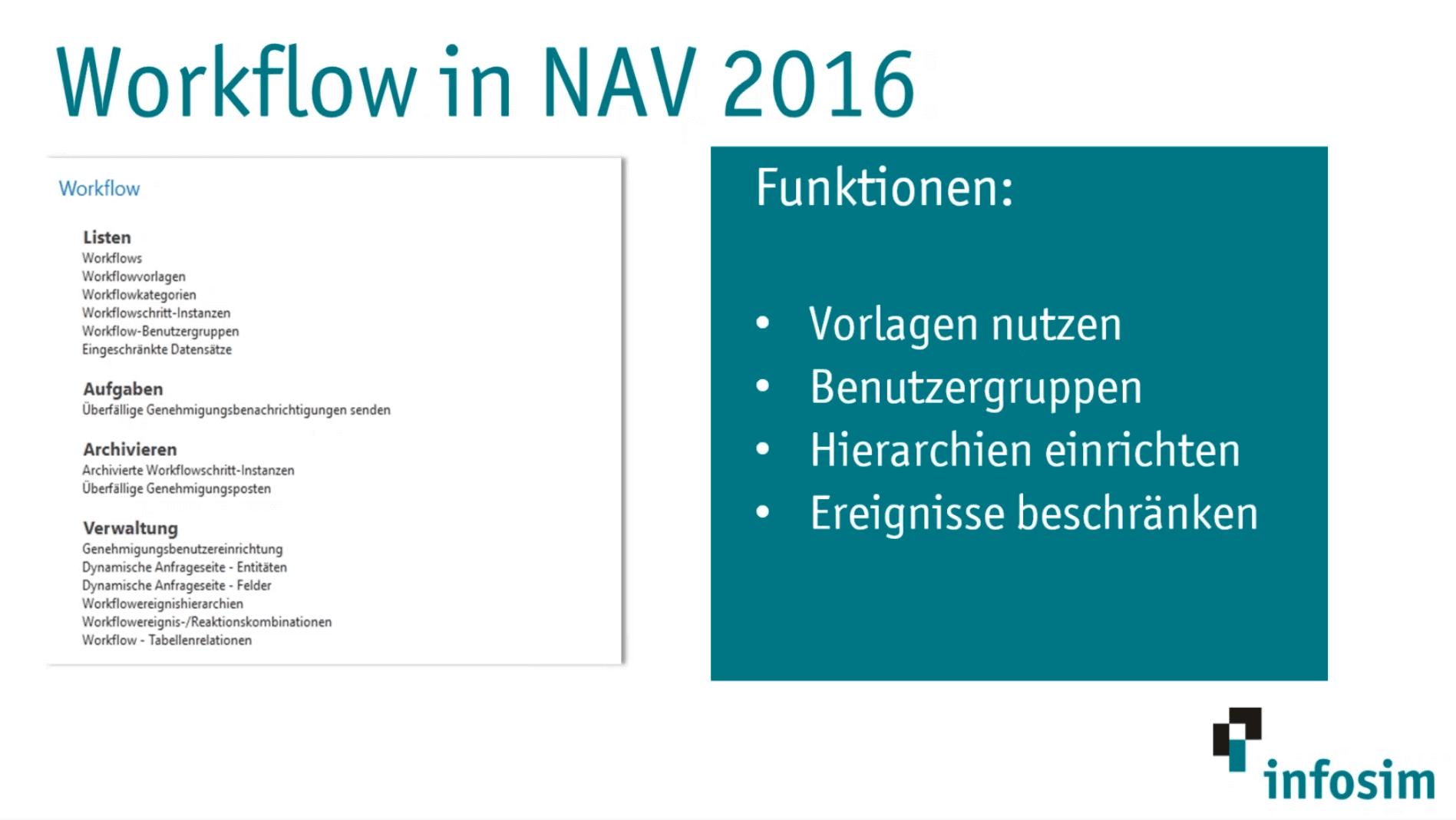 Dynamics NAV Webinarfolie