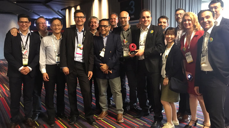 TM Forum Catalyst Award group picture