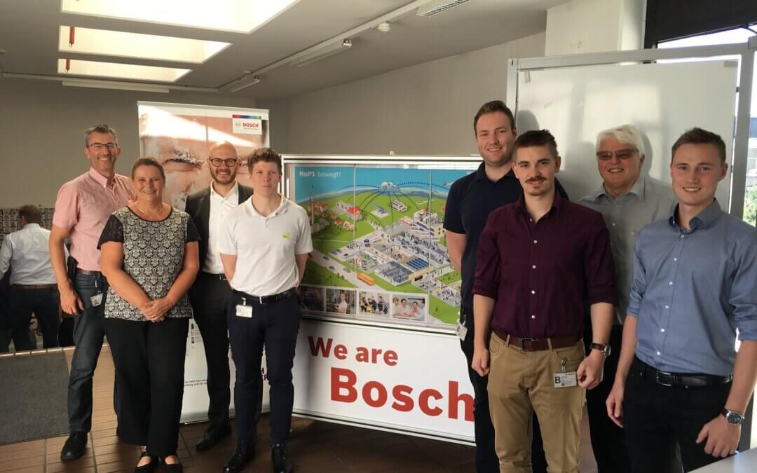 PAiCE-Workshop zu Geschäftsmodellen für ROBOTOP – Bosch, Nürnberg