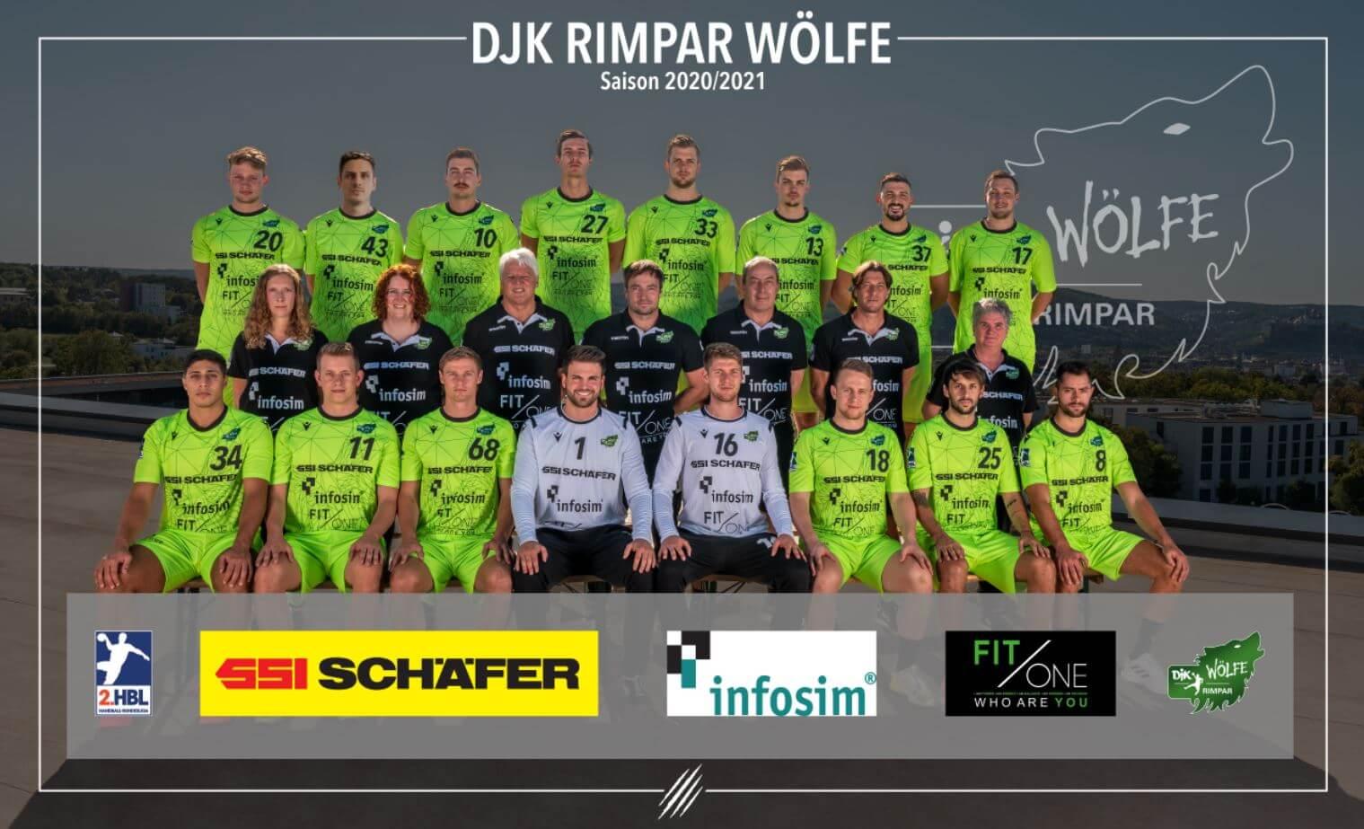 DJK Rimpar Wölfe Teamfoto